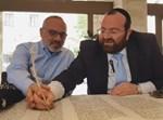 כותבים אות בספר תורה של עם ישראל