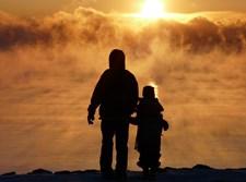 צללית אב וילד