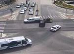 תאונת דרכים שתועדה במצלמות 'נתיבי ישראל'