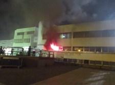 שריפה בישיבת צאנז בנתניה