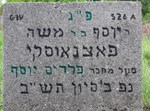 קברו של בעל הפרדס יוסף בפולין