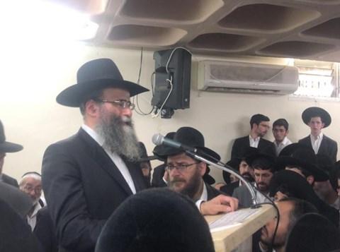 """הלווית הרב ישראל מאיר כהן זצ""""ל"""
