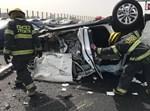 הרכב שנפגע מהתאונה הקשה