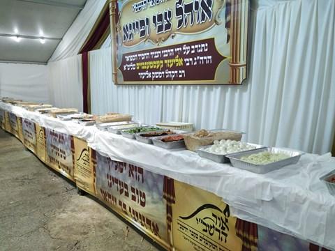 ארוחות כיד המלך להמונים במירון