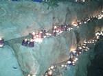 נרות בקבר רשבי