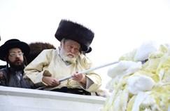 ההדלקה של תולדות אברהם יצחק במירון