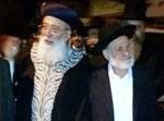 הרב בוארון והרב עמאר, צילום ארכיון