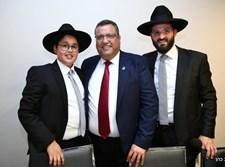בר מצווה לבן שמואל מרציאנו חבר מועצת עיריית ירושלים