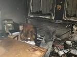 בית הספר לאחר השריפה