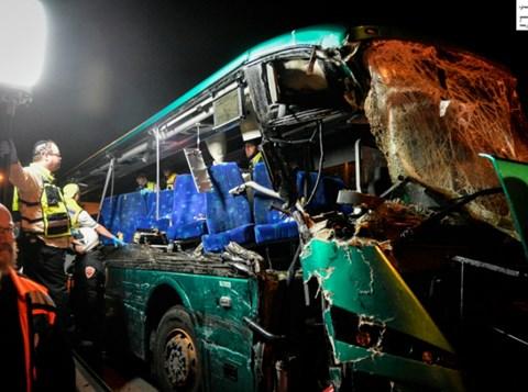 אוטובוס המוות. צילום: פלאש 90