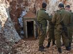 """כוחות הנדסה של צה""""ל מחוץ למנהרת חיזבאללה"""