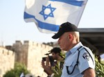 אבטחת המשטרה בצעדת יום ירושלים וריקוד הדגלים
