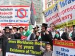 נטורי קרתא מפגינים נגד צעדת ישראל בניו יורק