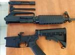 נשק M16 שנתפס