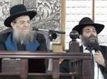 הרב משה בן שושן עם חמיו הרב יצחק ברדא
