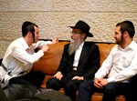 ארי היל, אברהם פריד ובנצי שטיין