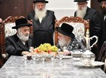הרבי מויז'ניץ ירושלים בביקור אצל הרבי מויז'ניץ