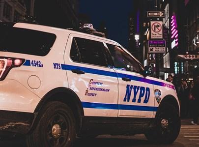 ניידת משטרה בניו יורק