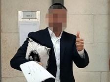 חבר המועצה מאלעד לאחר הארכת מעצרו