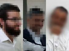 חלק מהחשודים בבית המשפט