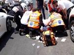בבני ברק: מונית פגעה באברך רוכב אופנוע