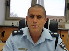 """סנ""""צ יאיר וייצנברג, מפקד תחנת המשטרה בבני ברק"""