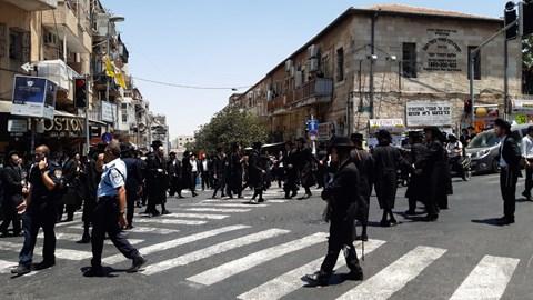 הפגנה בכיכר השבת