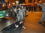 הפגנה בבר אילן על גיוס בנות