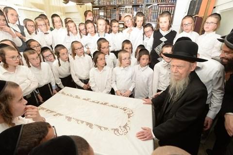 ילדי 'עץ חיים' נבחנים אצל גדולי ישראל