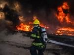 שריפות ענק בדרום