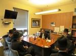 ראשי איגוד הסמינרים עם בפגישה עם גפני