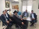 """ראשי זק""""א ישראל בפגישה עם אוריאל בוסו"""