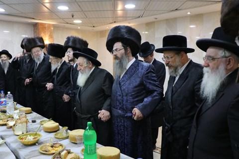 """שמחת שבע ברכות של הרבנית מדינוב בב""""ב"""