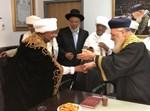 פגישת הרבנים הראשיים ומנהיגי הקהילה האתיופית