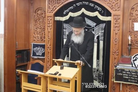"""עצרת מספד בברכפלד לרבנית חיה רבקה דינר ע""""ה"""