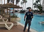 הבריכה במלון יו סוויט. צילום: דובר המשטרה