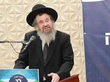 הגר''ד כהן ראש ישיבת חברון בכינוס
