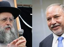 אביגדור ליברמן/הרב דוד יוסף