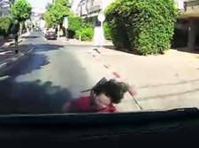 ילד קטן התפרץ לכביש בבני ברק ונפצע