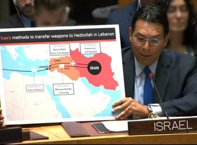 """דני דנון במועצת הביטחון של האו""""ם"""