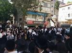 הפגנת קיצונים בכיכר השבת