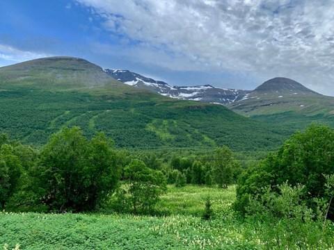 מחוז טרומסה שבמדינת נורווגיה
