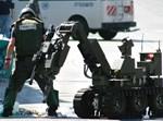 רובוט וחבלן משטרה. אילוסטרציה