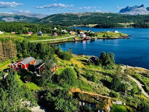 נופיה הקסומים של בּוּדֶה, נורווגיה