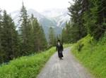 """האדמו""""ר מברעזאן בנאות דשא בארוזה שבשוויץ"""