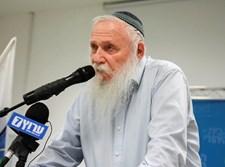 הרב חיים דרוקמן בכנס 'הבית היהודי'
