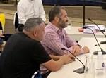 רון קובי בוועדת הבחירות לכנסת