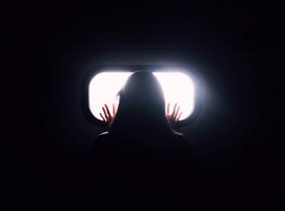 צללית אישה. אילוסטרציה
