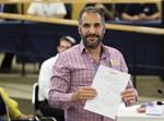 רון קובי בוועדת הבחירות של הכנסת