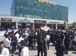 ההפגנה מול עיריית בית שמש